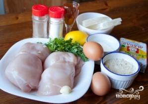 Куриные шницели с пармезаном - фото шаг 1