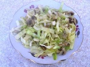Слоеный пирог с капустой - фото шаг 4