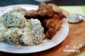 Картофель в сливочном соусе - фото шаг 9