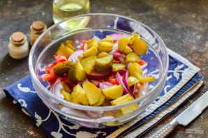 Селянский салат - фото шаг 5
