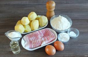 Картофельные вафли в мультипекаре - фото шаг 1