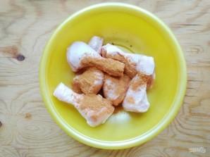 Куриные голени с рисом в духовке - фото шаг 7