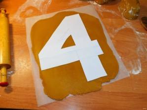 """Медовый открытый торт """"Цифра"""" - фото шаг 6"""