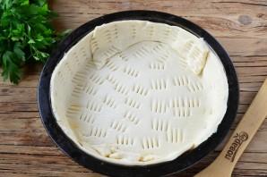 Луковый тарт с малосольной килькой - фото шаг 2