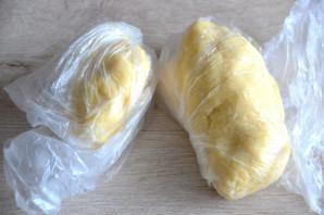 Польский пирог с яблоками и безе - фото шаг 6