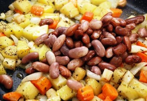 Диетические блюда с фасолью - фото шаг 4