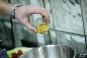 Салат из стручковой фасоли с курицей - фото шаг 7