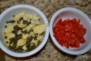 Салат с лангустинами - фото шаг 3