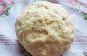 Лепёшки с сыром в духовке - фото шаг 2
