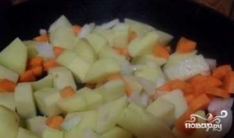 Итальянский овощной суп - фото шаг 2