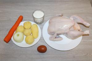 Татарский суп-лапша «Токмач»  - фото шаг 1