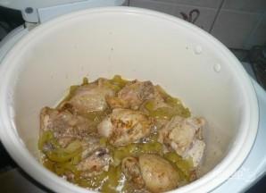 Курица с макаронами - фото шаг 7