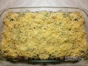 Запеканка из цветной капусты, брокколи и куриной грудки - фото шаг 6