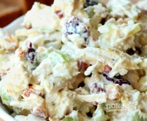 Салат из курицы, орехов и ананасов - фото шаг 3