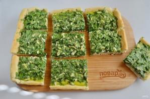 Пирог со шпинатом и укропом - фото шаг 9