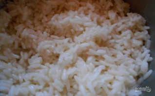 Паровой рисовый пудинг - фото шаг 1