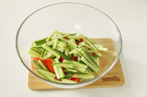 Китайский салат с языком - фото шаг 5