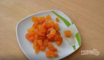 Острый морковный суп с курагой - фото шаг 1