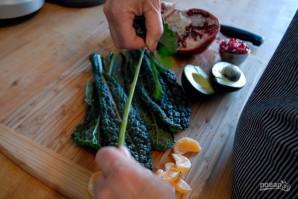 Новогодний салат с мандаринами - фото шаг 1