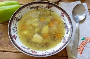 Грибной суп с лисичками - фото шаг 6