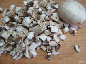 Кабачки с рисом и грибами  - фото шаг 7