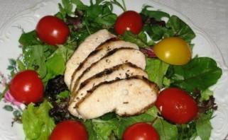 Итальянский салат с куриной грудкой - фото шаг 8