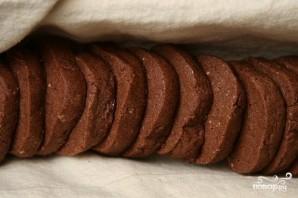 Пряное шоколадное печенье с миндалем - фото шаг 3
