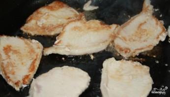 Свинина со сливками и грибами - фото шаг 2