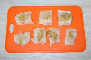 Драники с рыбой - фото шаг 6