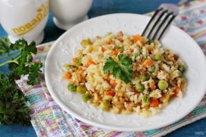Жареный рис с яйцом - фото шаг 9