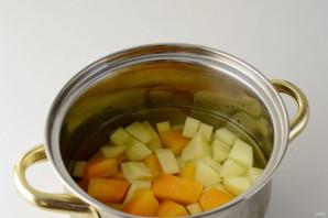 Овощной суп с грушей - фото шаг 3