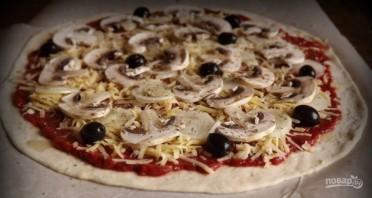 Пицца на дому - фото шаг 5