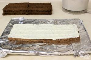 Торт с копченым лососем - фото шаг 3