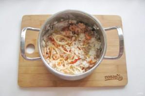 Рис с креветками и кальмарами - фото шаг 9