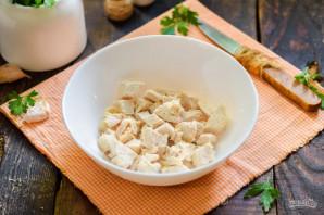 Салат с фасолью и брынзой - фото шаг 2