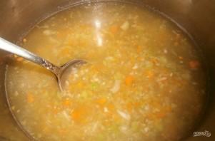 Американский сливочный суп с бурым рисом - фото шаг 3
