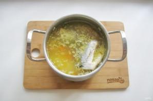 Суп из скумбрии с пшеном - фото шаг 13