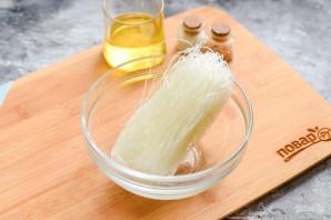 Салат с фунчозой и морской капустой - фото шаг 2