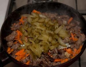 Азу из говядины с картофелем - фото шаг 9