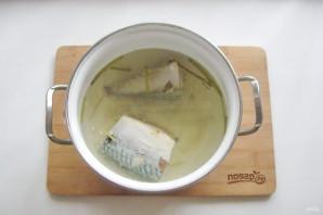 Суп из скумбрии с пшеном - фото шаг 5