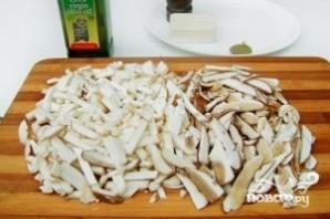 Суп грибной с плавленым сыром - фото шаг 5