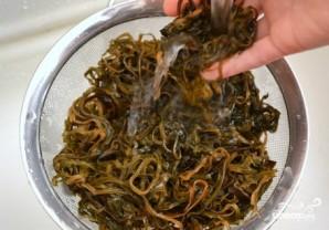 Жареная морская капуста - фото шаг 1