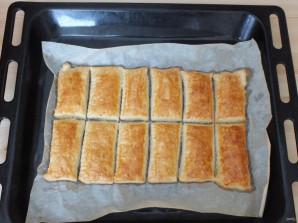 Пирожные с кремом и ягодами - фото шаг 10