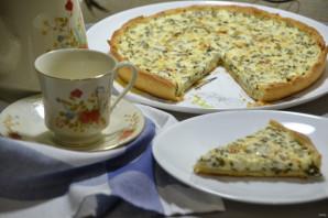 Пирог с зеленым луком и творогом - фото шаг 17