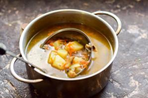 Диетический картофельный суп - фото шаг 8