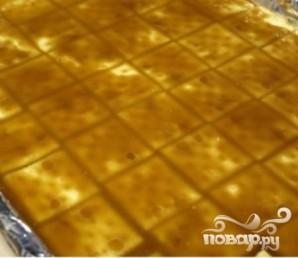 Крекеры с шоколадом и орехами - фото шаг 4