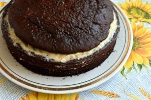 Шоколадный торт  «Ореховый прутик» - фото шаг 11