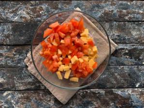 Салат из стручковой фасоли с мясом - фото шаг 6