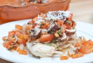 Куриное филе с овощами в духовке - фото шаг 9