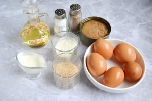 Обжаренные фаршированные яйца - фото шаг 1
